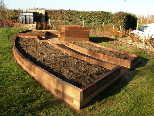 Vegetable and kitchen garden landscaping bespoke to your